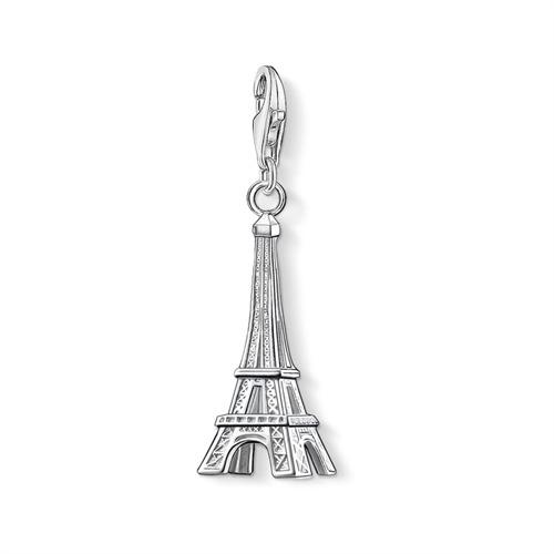 Charm Anhänger Eiffelturm aus 925er Silber
