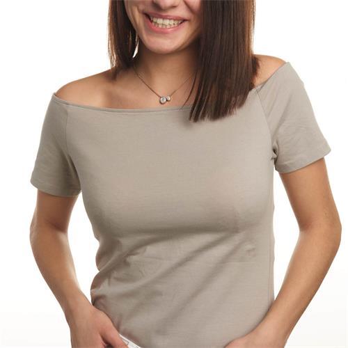 Halskette Lorella für Damen aus Edelstahl rosévergoldet