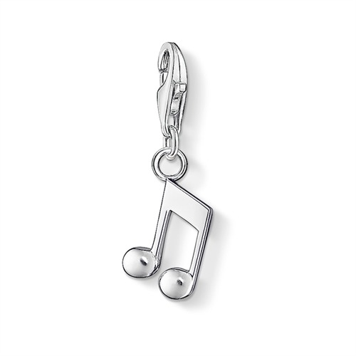 Charm Note aus Sterlingsilber