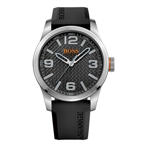 Hugo Boss Orange Herrenuhr Kautschukarmband 1513350