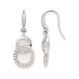 Ohrhänger Marisa aus Edelstahl mit Glaskristallen