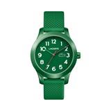 Armbanduhr für Kinder mit Quarzwerk grün