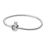 Armband Moments Crown O für Damen aus 925er Silber