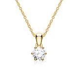 585er Goldkette für Damen mit Brillant