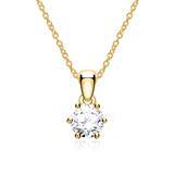 Kette für Damen aus 585er Gold mit Diamant