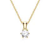 Diamantkette für Damen aus 585er Gold