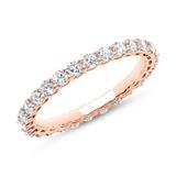 Eternity Ring 750er Roségold 28 Diamanten