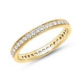 Eternity Ring 18 Karat Gold 39 Diamanten