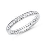 Eternity Ring 950er Platin 39 Diamanten