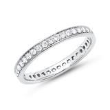 Eternity Ring 750er Weißgold 39 Diamanten