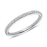 950er Platin Eternity Ring 25 Diamanten