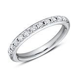 950er Platin Half Eternity Ring 13 Diamanten