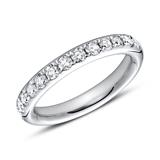 Eternity Ring 950er Platin 13 Brillanten
