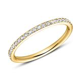 585er Gold Eternity Ring 44 Brillanten