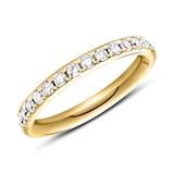 Eternity Ring 585er Gold 30 Brillanten