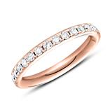 Eternity Ring 750er Roségold 30 Brillanten