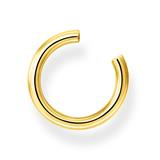 Kleine Ohrklemmen aus vergoldetem Sterlingsilber