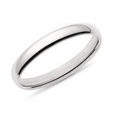Ring für Herren aus 14K Weißgold
