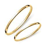 14K Gold Wedding Ring Set