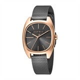 Uhr Infinity für Damen grau roségold