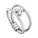 Ring Play aus 925er Silber Zirkonia