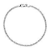 Königsarmband für Herren aus 925er Silber, 2,0 mm