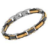 Armband mit schwarzen Keramikelementen