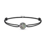 Armband Little Secret Kompass Perlmutt aus 925er Silber