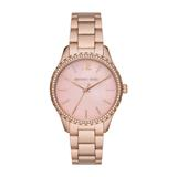 Layton Stainless Steel Watch For Ladies, Rosé