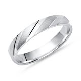 Ring echt 925 Sterling Silber in 4mm Breite