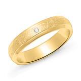 Ring für Damen aus vergoldetem Sterlingsilber