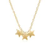 Sternenkette aus vergoldetem Sterlingsilber