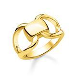 Heritage Ring aus vergoldetem 925er Silber
