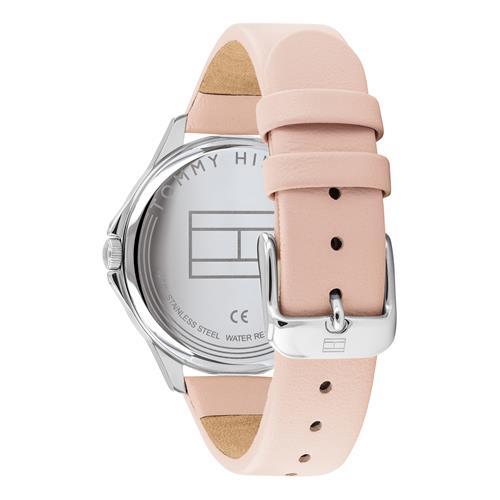 Armbanduhr Sport für Damen mit rosa Lederband