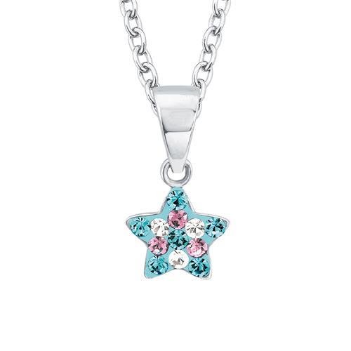 Kinderkette Stern aus 925er Sterlingsilber