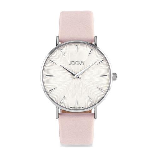 Uhren für Frauen - Armbanduhr für Damen mit Lederband, rosa  - Onlineshop The Jeweller