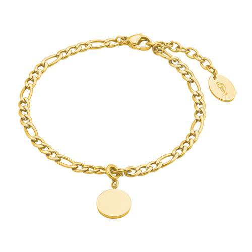 Armband für Damen aus Edelstahl, vergoldet