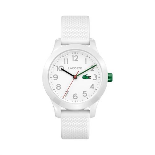 Uhr für Kinder mit Quarzwerk weiß