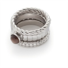 Leonardo Set/3 Ring Trio Twirl 013885