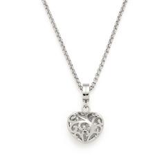 Halskette Frederica aus Edelstahl mit Herzanhänger