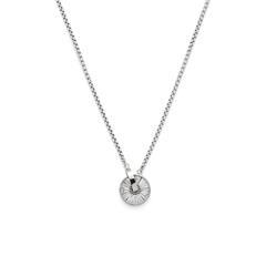 Damen Halskette Lia aus Edelstahl mit Kristallsteinen
