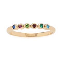 Ring Adea für Damen aus vergoldetem Edelstahl