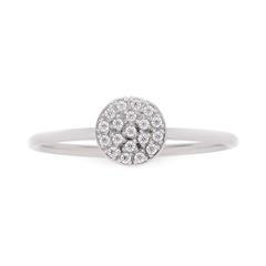 Damen Ring Becca aus Edelstahl mit Zirkoniasteinen