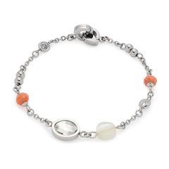 Clip & Mix Armband Letzia für Damen aus Edelstahl