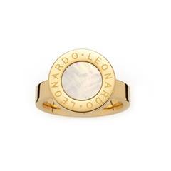 Ring Mauritia für Damen aus Edelstahl, vergoldet