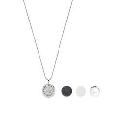 Medaillonkette Allegria für Damen aus Edelstahl