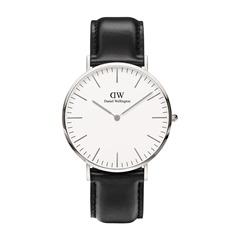 Uhr Sheffield Silber 40mm