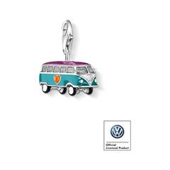 Charm Anhänger VW Bus aus 925er Silber
