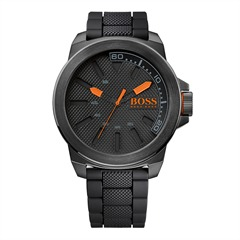 Hugo Boss Orange schwarz Kautschuk 1513004