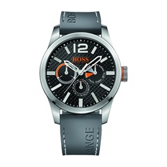 Herrenuhr Hugo Boss Orange Chrono grau silber 7000175